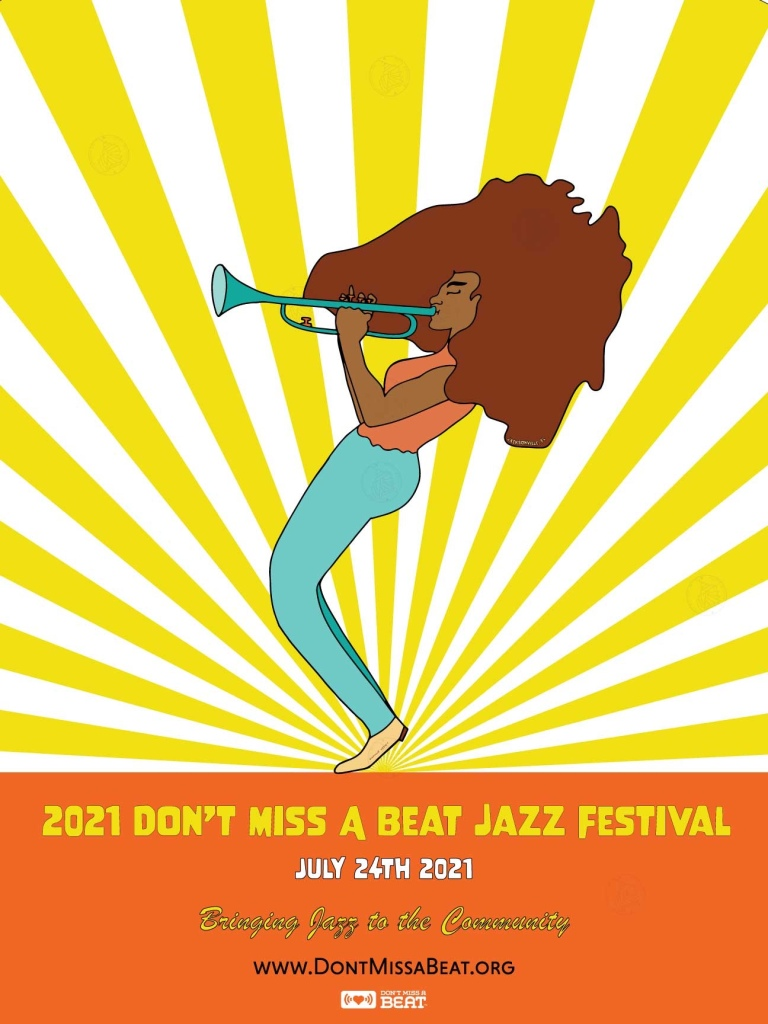contestant poster of don't miss a beat jazz festival