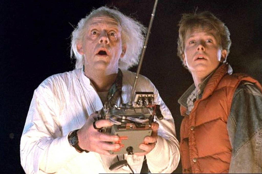 back to the future marty