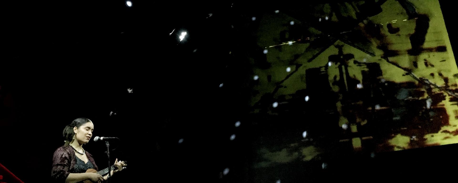 Daphné essiet performing at Nublu on Jan 6th 2018